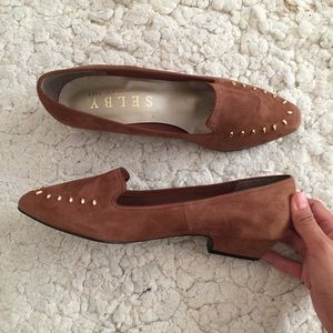 Selby Comfort Flex Leather Flats